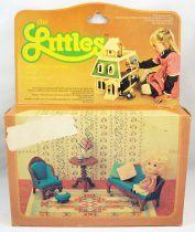 The Littles - Mattel - Hedy & Living Room Setting Ref.3219