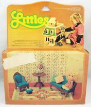 The Littles - Mattel - Hedy & Living Room Setting Ref.3219