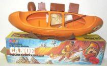 The Lone Ranger - Marx Toys - Accessory Canoe