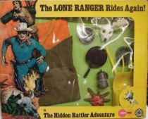 The Lone Ranger - Marx Toys - Accessory Set The Hidden Rattler Adventure