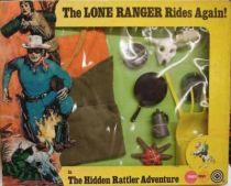 The Lone Ranger - Marx Toys - Accessory Set The Hidden Rattler Adventure