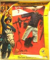 The Lone Ranger - Marx Toys - Accessory Set The lost cavalry patrol