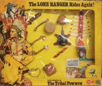 The Lone Ranger - Marx Toys - Accessory Set The Tribal Powwow