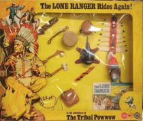 The Lone Ranger - Marx Toys - Accessory Set The Tribal Powwow