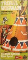 The Lone Ranger - Marx Toys - Accessory Tribal Wigwam