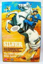 The Lone Ranger - Marx Toys - Cheval Silver - le cheval du Lone Ranger