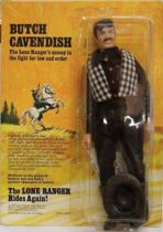 The Lone Ranger - Marx Toys - Figure Butch Cavendish (carded)
