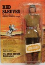 The Lone Ranger - Marx Toys - Figure Red Sleeves (carded)