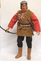 The Lone Ranger - Marx Toys - Figure Red Sleeves (loose)