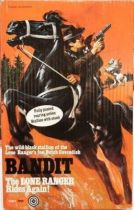 The Lone Ranger - Marx Toys - Horse Bandit - Cavendish\'s black stallion