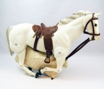 The Lone Ranger - Marx Toys - Horse Silver - Lone Ranger\'s horse