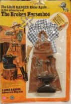 The Lone Ranger - Marx Toys - Outfit The Broken Horseshoe