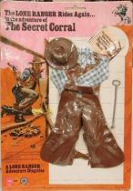 The Lone Ranger - Marx Toys - Outfit The Secret Corral
