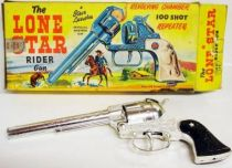 The Lone Star Rider - Steve Larrabee\'s 100 shot repeater cap gun