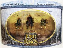 The Lord of the Rings - Armies of Middle-Earth - Attack at Amon-Hen : Merry, Pippin, Boromir