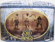 The Lord of the Rings - Armies of Middle-Earth - Marching to Mordor : Frodo, Sam, Orc Whipmaster