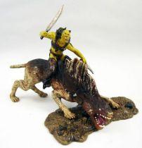 Le Seigneur des Anneaux - Armies of Middle-Earth - Sharku à dos de Warg (loose)