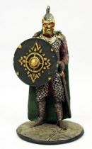 The Lord of the Rings - Eaglemoss - #008 Rohan Soldier at the Battle of Helm\'s Deep