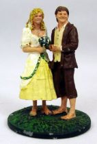 The Lord of the Rings - Eaglemoss - #054 Sam & Rosie at Hobbiton
