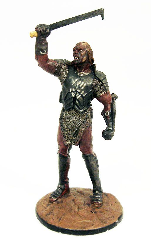The Lord of the Rings - Eaglemoss - #069 Uruk-Hai general at Helm\'s Deep