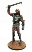 The Lord of the Rings - Eaglemoss - #069 Uruk-Hai general at Helm\'s Deep