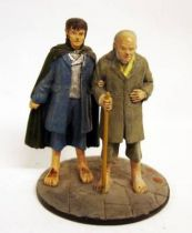 The Lord of the Rings - Eaglemoss - #082 Bilbo & Frodo at the Gray Havens
