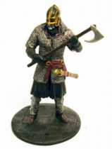 The Lord of the Rings - Eaglemoss - #132 Rohan farmer at the battle of Helm\'s Deep