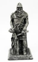 The Lord of the Rings - Eaglemoss - #156 Rohan King Statue at Helm\'s Deep