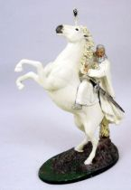 The Lord of the Rings - Eaglemoss - #HS Gandalf the White on Shadowfax