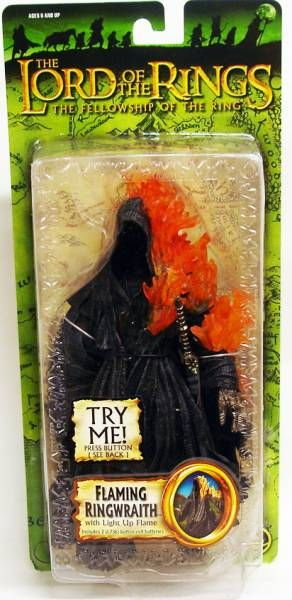 The Lord of the Rings - Flaming Ringwraith - FOTR Trilogy