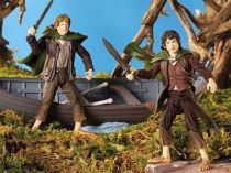 The Lord of the Rings - Frodo & Sam with Elven boat - FOTR