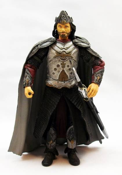 The Lord of the Rings - King Elessar Aragorn in ceremonial outfit - loose