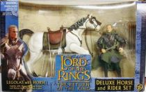 The Lord of the Rings - Legolas on Hasufel horse - ROTK