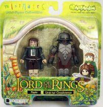 The Lord of the Rings - Minimates - Pippin & Uruk-Hai Crossbowman