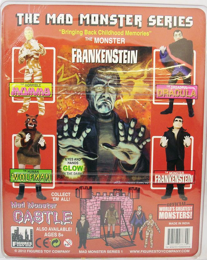 The Mad Monsters Series - The Monster Frankenstein - Figures Toy Co. (1)