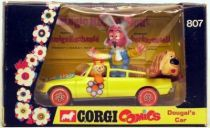 The Magic Roundabout , Corgi Mint in Box Dougal\'s car