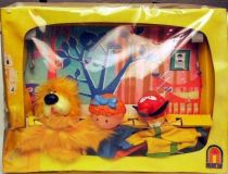 The Magic Roundabout , Theater with 3 hand muppets Mint in Box Ajena