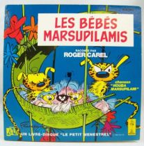 The Marsupilami Babies - 45t Record-Story book - Adès Records 1983