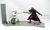 The Matrix Reloaded - McFarlane series 1 Action figures - Morpheus vs Twin 1 (loose)