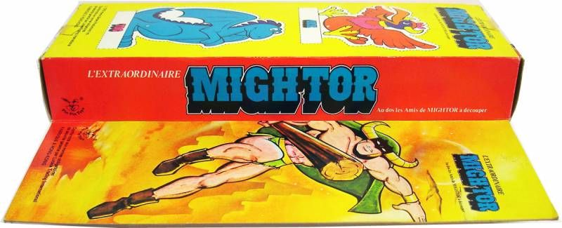 The Mighty Mightor - 12\'\' action figure - Mego-PinPin Toys