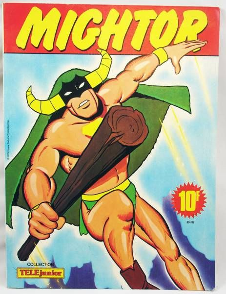 The Mighty Mightor - TELEJunior 1979 comic book