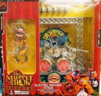 The Muppet Show - Electric Mayhem Stage playset & Animal