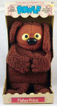 "The Muppet Show - Fisher-Price - 14"" Hand Puppet - Rowlf (mint in box)"