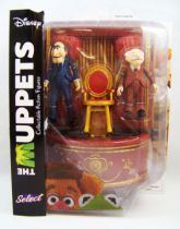 The Muppet Show - Hecklers Statler & Waldorf - Action-figure Diamond Select