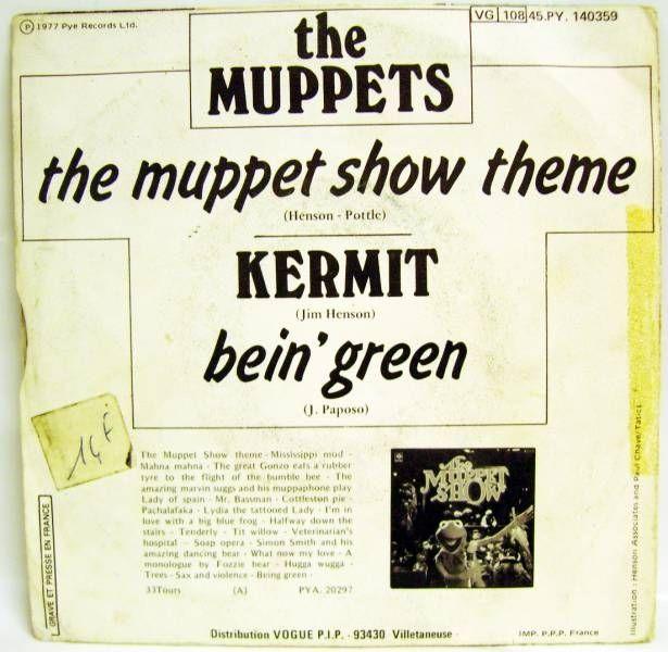 The Muppet Show - Mini-LP Record - Vogue Records 1977