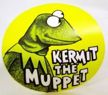 The Muppet Show - Promotional Sticker 1977 - Kermit the muppet