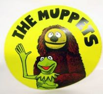The Muppet Show - Promotional Sticker 1977 - Rowlf & Kermit