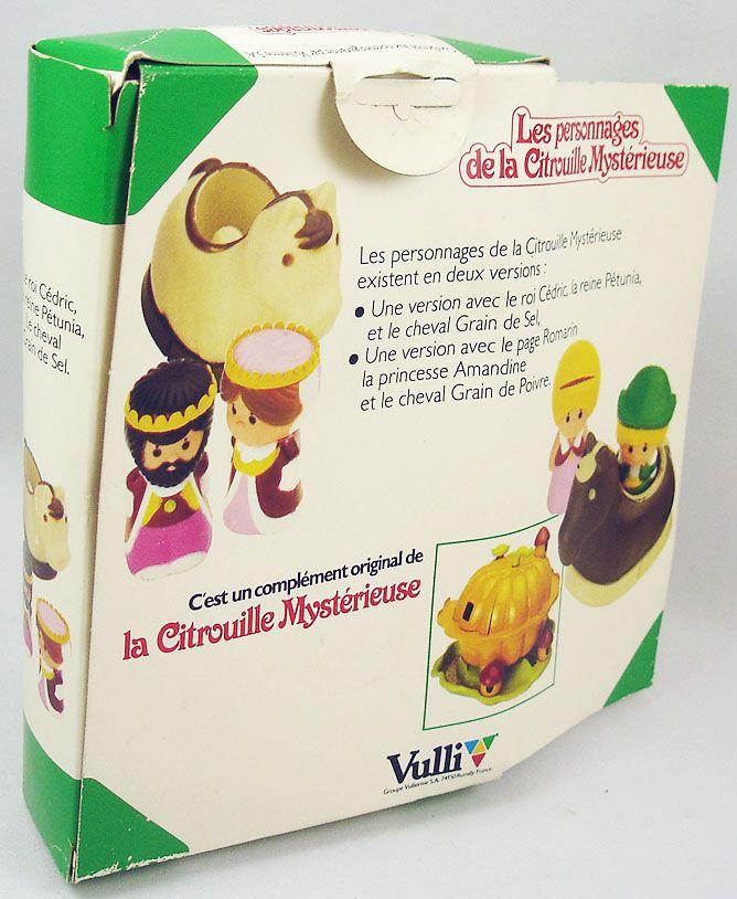 The Mysterious Pumpkin - Page Romarin, Princess Amandine & Salt Horse - Vulli