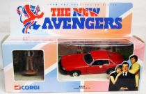 The New Avengers - Corgi - Gambit\'s Jaguar XJS