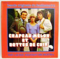 The New Avengers - Mini-LP Record - Original French TV series Soundtrack - EMI 1977